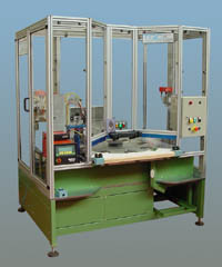 automatic assembly system for metal parts